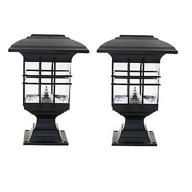 0.5W Çimen Işık / LED Güneş Işıkları Su Geçirmez / Dekorotif / Işık Kontrolü Serin Beyaz Açık Hava Aydınlatma