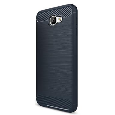 غطاء من أجل Samsung Galaxy J7 Prime J5 Prime Other غطاء خلفي لون الصلبة ناعم TPU إلى J7 (2016) J7 Prime J7 J5 (2016) J5 Prime J5 J3 Prime