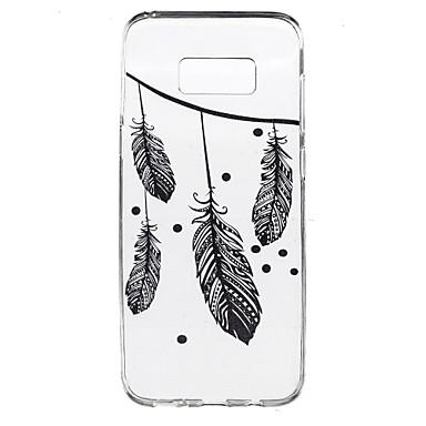 Για Διαφανής Με σχέδια tok Πίσω Κάλυμμα tok Φτερό Μαλακή TPU για Samsung S8 S8 Plus S7 edge S7 S6 edge plus S6 edge S6 S4 Mini S4