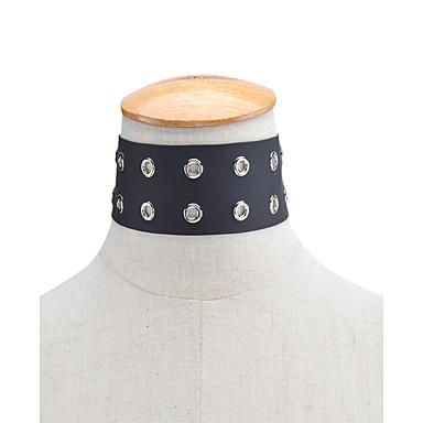 Naisten Muuta Yksilöllinen Vintage Muoti Euramerican Choker-kaulakorut Korut Nahka Choker-kaulakorut , Päivittäin Kausaliteetti