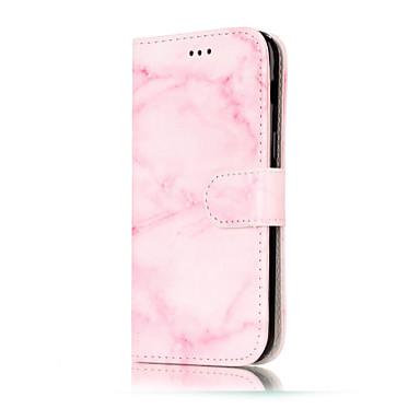 Etui Käyttötarkoitus Samsung Galaxy A5(2017) A3(2017) Lomapkko Korttikotelo Tuella Flip Kuvio Kokonaan peittävä Marble Kova PU-nahka