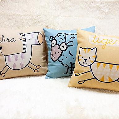 1 szt Bielizna Poduszka Body Pillow Poduszka turystyczna sofa Poduszka Poduszka-Nowość Poszewka na poduszkę, Wzór zwierzęcy Na co dzień