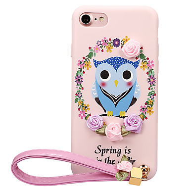 Varten Kuvio DIY Etui Takakuori Etui Pöllö Pehmeä TPU varten Apple iPhone 7 Plus iPhone 7 iPhone 6s Plus iPhone 6 Plus iPhone 6s iPhone 6