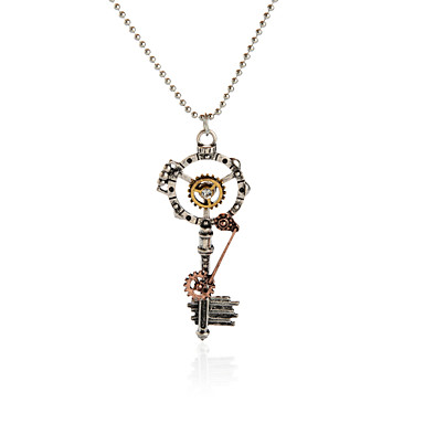 للمرأة للرجال قلائد الحلي مجوهرات Geometric Shape سبيكة تصميم فريد الطبيعة ديني مجوهرات من أجل حزب فضفاض الرياضة