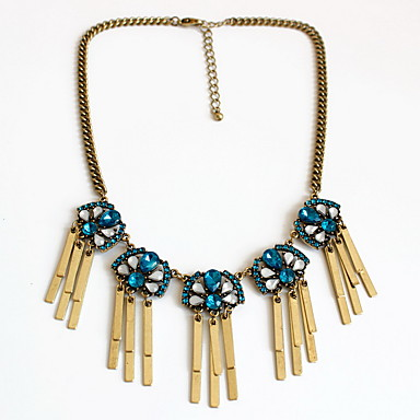 Γυναικεία Σκέλη Κολιέ Κοσμήματα Κοσμήματα Συνθετικοί πολύτιμοι λίθοι Κράμα Εξατομικευόμενο Φύση Euramerican Κοσμήματα Για Πάρτι