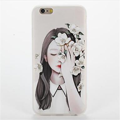 Varten Kuvio Etui Takakuori Etui Seksikäs nainen Pehmeä TPU varten AppleiPhone 7 Plus iPhone 7 iPhone 6s Plus iPhone 6 Plus iPhone 6s