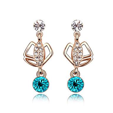 Damskie Kolczyki na sztyft Kryształ Spersonalizowane euroamerykańskiej Modny Biżuteria Na Ślub Impreza Urodziny