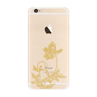 tok Για Apple iPhone X iPhone 8 Plus Διαφανής Με σχέδια Πίσω Κάλυμμα Λουλούδι Μαλακή TPU για iPhone X iPhone 8 Plus iPhone 8 iPhone 7