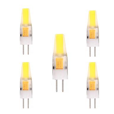2W G4 LED Φώτα με 2 pin T 1 leds COB Διακοσμητικό Θερμό Λευκό Ψυχρό Λευκό 150-200lm 2800-3200/6000-6500K AC 12V