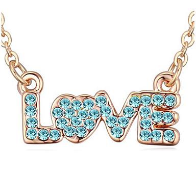 Pentru femei Coliere cu Pandativ Bijuterii Iubire Design Unic Iubire Adorabil Bijuterii Pentru Zilnic