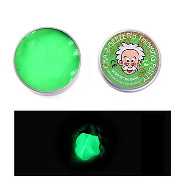 Zabawki magnetyczne Zagraj w ciasto, plastelinę i szpachlówkę Gadżety antystresowe 1pcs Świecące w ciemności Magnetyczne Zmieniająca