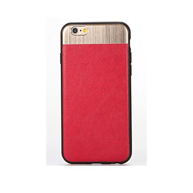 غطاء من أجل iPhone 7 Plus iPhone 7 iPhone 6s Plus أيفون 6بلس iPhone 6s ايفون 6 Apple تصفيح غطاء خلفي لون الصلبة ناعم سيليكون إلى