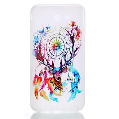 Maska Pentru Samsung Galaxy J7 (2016) J5 (2016) Stralucire in intuneric Mătuit Translucid Model Carcasă Spate Prinzător de vise Moale TPU