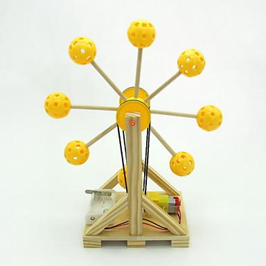 Kit de Construit Παιχνίδια επιστήμης και ανακάλυψης Εκπαιδευτικό παιχνίδι Παιχνίδια Κυλινδρικό Ντραμς ΡΟΔΑ του λουνα παρκ Φτιάξτο Μόνος