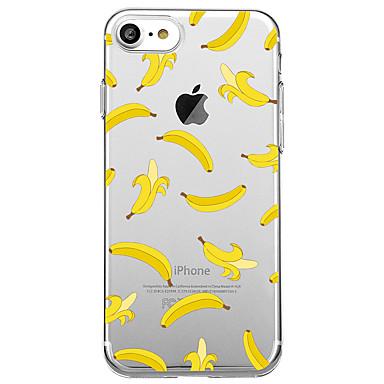 Kılıf Na Apple iPhone X iPhone 8 Ultra cienkie Przezroczyste Czarne etui Owoc Miękkie TPU na iPhone X iPhone 8 Plus iPhone 8 iPhone 7