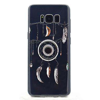 Maska Pentru Samsung Galaxy S8 Plus S8 Transparent Model Carcasă Spate Prinzător de vise Moale TPU pentru S8 S8 Plus