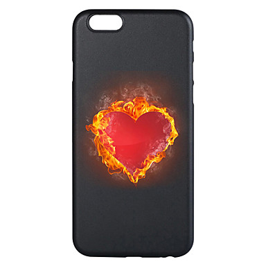 غطاء من أجل Apple iPhone 7 Plus iPhone 7 نموذج غطاء خلفي قلب ناعم TPU إلى iPhone 7 Plus iPhone 7 iPhone 6s Plus ايفون 6s iPhone 6 Plus