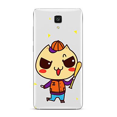 Varten Läpinäkyvä Kuvio Etui Takakuori Etui Piirros Pehmeä TPU varten XiaomiXiaomi Mi 5 Xiaomi Mi 4 Xiaomi Mi 5s Xiaomi Mi 5s Plus Xiaomi