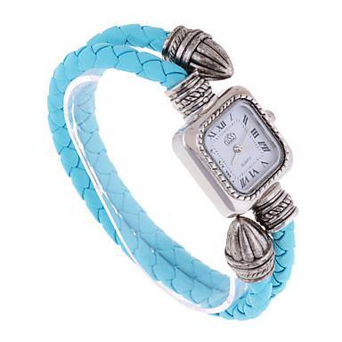 Damskie Zegarek na bransoletce Kwarcowy Skóra Pasmo Niebieski