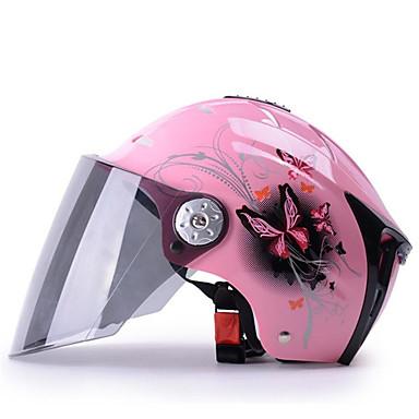 Yarım Kask Anti-UV Hava Alan Motosiklet Kaskları