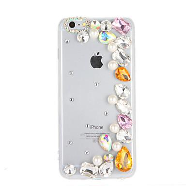 Varten Paljetti Etui Takakuori Etui Kiiltävä Kova PC varten Apple iPhone 7 Plus iPhone 7 iPhone 6s Plus iPhone 6 Plus iPhone 6s iPhone 6