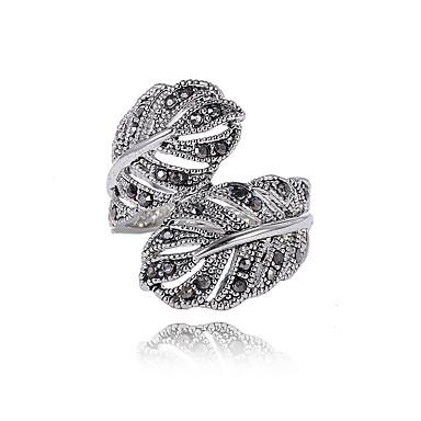 Damskie Pierścień oświadczenia Spersonalizowane Unikalny W stylu brytyjskim Wyrazista biżuteria euroamerykańskiej Modny Kryształ górski
