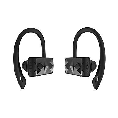 căști fără fir Bluetooth v4.2 îmbunătățită pentru căști portabile pentru căști binaurale sport de funcționare construit în microfon pentru