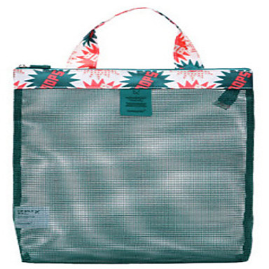 حقيبة أدوات تجميل للسفر منظم أغراض السفر المحمول تخزين السفر إلى ملابس نايلون /