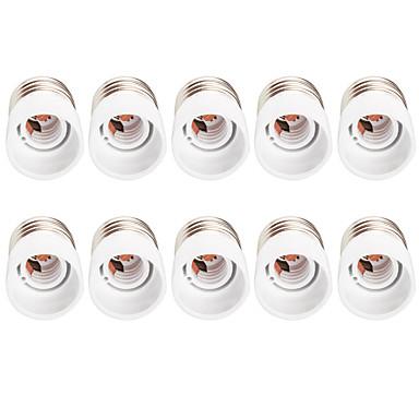 10pcs E27 do E14 Lekkie gniazdo Convertible Lamp Base