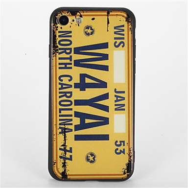 Na Wzór Kılıf Etui na tył Kılıf Napis Twarde PC na Apple iPhone 7 Plus iPhone 7 iPhone 6s Plus iPhone 6 Plus iPhone 6s iphone 6