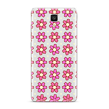Için Şeffaf Temalı Pouzdro Arka Kılıf Pouzdro Çiçek Yumuşak TPU için XiaomiXiaomi Mi 5 Xiaomi Mi 4 Xiaomi Mi 5s Xiaomi Mi 5s Plus Xiaomi