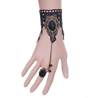 Pentru femei Brățări cu Lanț & Legături La modă Dantelă Crown Shape Bijuterii Pentru Nuntă Petrecere Ocazie specială Zi de Naștere