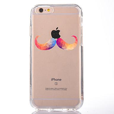 إلى شفاف نموذج غطاء غطاء خلفي غطاء اللعب بشعار آبل ناعم TPU إلى Appleفون 7 زائد فون 7 iPhone 6s Plus iPhone 6 Plus iPhone 6s أيفون 6
