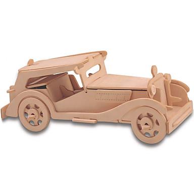 أحجار البناء قطع تركيب3D تركيب تركيب خشبي ألعاب تربوية سيارة اصنع بنفسك 1pcs للأطفال للرجال للمرأة الزوجين فتيات صبيان للجنسين هدية
