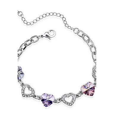 Damskie Bransoletki i łańcuszki na rękę Biżuteria Przyjaźń Modny Kryształ Stop Geometric Shape Biżuteria Impreza Urodziny