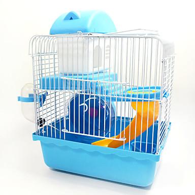 Hamsteri Metalli Kannettava Multi-function Häkit Kahvi Sininen Pinkki