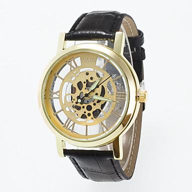 pentru Doamne Ceas Sport Ceas Elegant Ceas La Modă Ceas de Mână Quartz Mare Dial Piele Autentică Bandă Charm MulticolorAuriu Argintiu