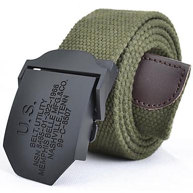 رخيصةأون ملابس رجالي-حزام خصر فيلكرو سبيكة للرجال