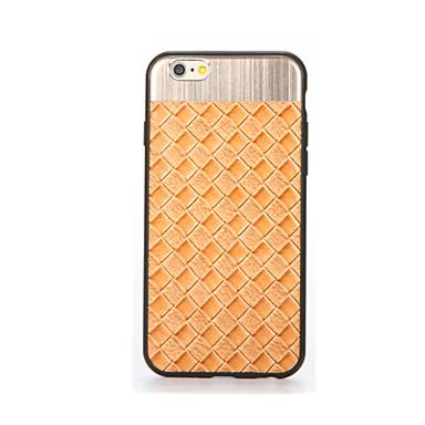 Για Επιμεταλλωμένη tok Πίσω Κάλυμμα tok Μονόχρωμη Μαλακή Σιλικόνη για AppleiPhone 7 Plus iPhone 7 iPhone 6s Plus iPhone 6 Plus iPhone 6s