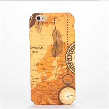 Για Ανάγλυφη Με σχέδια tok Πίσω Κάλυμμα tok Φτερό Σκληρή PC για AppleiPhone 7 Plus iPhone 7 iPhone 6s Plus iPhone 6 Plus iPhone 6s iPhone