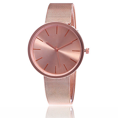 Women's Wrist Watch Japanese Hot Sale Alloy Band Charm / Casual / Fashion Silver / Rose Gold / One Year / SSUO LR626