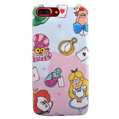 Varten IMD Kuvio Etui Takakuori Etui Piirros Pehmeä TPU varten AppleiPhone 7 Plus iPhone 7 iPhone 6s Plus iPhone 6 Plus iPhone 6s iPhone
