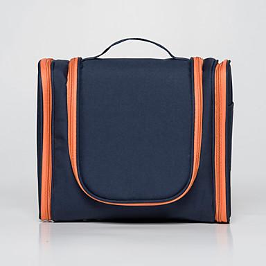 حقيبة أدوات تجميل للسفر حقيبة أدوات تجميل حقيبة معلقة لأدوات التجميل حقيبة مستحضرات التجميل مقاوم للماء المحمول سعة كبيرة تخزين السفر إلى