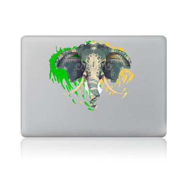 1 τμχ Προστασία από Γρατζουνιές Ελέφαντας Πλαστικές διάφανες Αυτοκόλλητο Μοτίβο ΓιαMacBook Pro 15'' with Retina MacBook Pro 15 '' MacBook