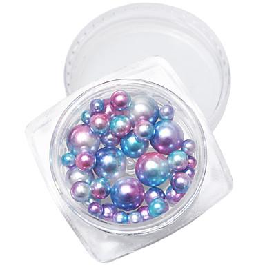 1szt Japonia i Korea Południowa paznokci działanie, do którego ofing rolę smakowały 7 kolorów okrągły kolor perłowy mieszany więcej