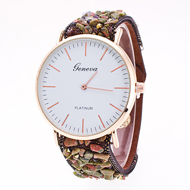 pentru Doamne Ceas Sport Ceas Elegant Ceas La Modă Ceas de Mână Chineză Quartz Material Bandă Charm Casual Creative MulticolorGri Mov