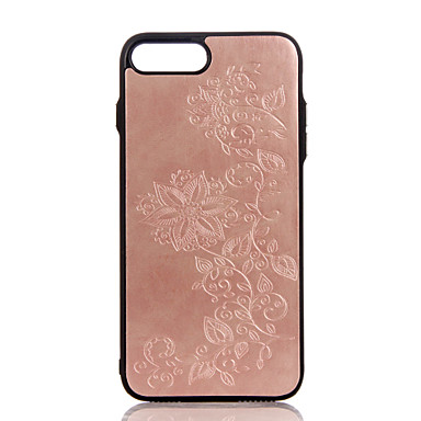 Για Θήκες Καλύμματα Ανάγλυφη Με σχέδια Πίσω Κάλυμμα tok Λουλούδι Σκληρή PU Δέρμα για Apple iPhone 7 Plus iPhone 7 iPhone 6s Plus iPhone 6