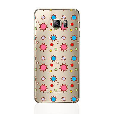 Pouzdro Uyumluluk Samsung Galaxy S7 edge S7 Şeffaf Temalı Arka Kılıf Kuyruk Yumuşak TPU için S7 edge S7 S6 edge plus S6 edge S6 S5 S4