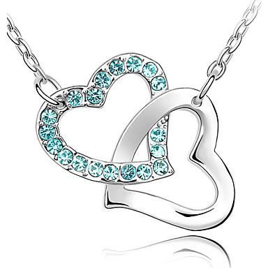Naisten Riipus-kaulakorut Kristalli Heart Shape Yksilöllinen Uniikki Korut Käyttötarkoitus