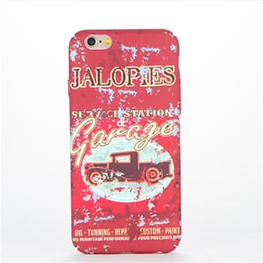 tok Για Apple iPhone 7 Plus iPhone 7 Με σχέδια Ανάγλυφη Πίσω Κάλυμμα Λέξη / Φράση Σκληρή PC για iPhone 7 Plus iPhone 7 iPhone 6s Plus